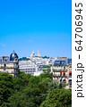 パリの街並み サクレクール寺院 フランス 64706945