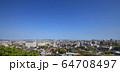 2020.4福岡市風景 風景 町 博多 福岡市風景 都会 福岡市 遠景 都市風景 2020福岡市  64708497