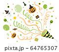 クラッカー_ハロウィン01緑 64765307