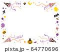 クラッカー_ハロウィン02コーナー_紫 64770696