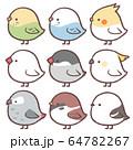動物アイコン4-鳥集め 64782267
