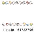 鳥フレーム 64782756