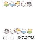 鳥5フレーム 64782758