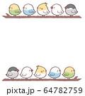 鳥5フレーム枝 64782759