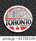 Vector logo for Toronto 64785249