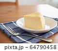 スフレチーズケーキ 64790458