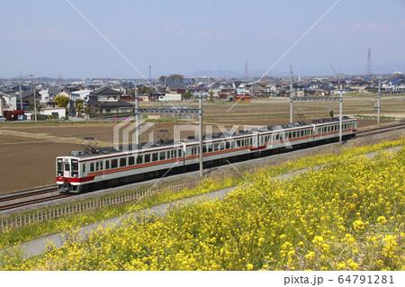 東武日光線6050系(春の全国交通安全運動マーク) 64791281