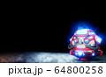 Daruma doll robot Japanese design .3D rendering 64800258