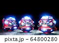 Daruma doll robot Japanese design .3D rendering 64800280