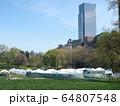 COVID-19 NYC セントラルパーク仮設病院 64807548
