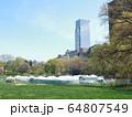 COVID-19 NYC セントラルパーク仮設病院 64807549