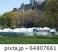 COVID-19 NYC セントラルパーク仮設病院 64807661