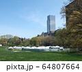 COVID-19 NYC セントラルパーク仮設病院 64807664