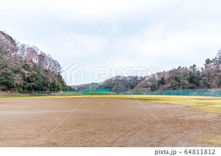 城山湖 野球場 神奈川県相模原市 64811812