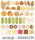 パンのイラストセット 64840130