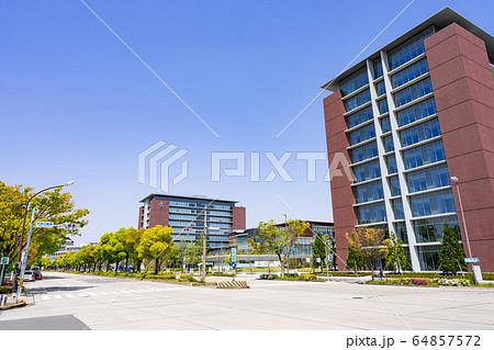 名古屋市北区都市風景 名城公園南交差点 愛知学院大学名城公園キャンパス 64857572