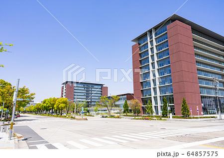 名古屋市北区都市風景 名城公園南交差点 愛知学院大学名城公園キャンパス 64857575