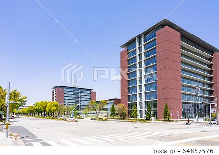 名古屋市北区都市風景 名城公園南交差点 愛知学院大学名城公園キャンパス 64857576
