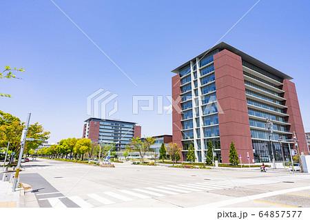 名古屋市北区都市風景 名城公園南交差点 愛知学院大学名城公園キャンパス 64857577