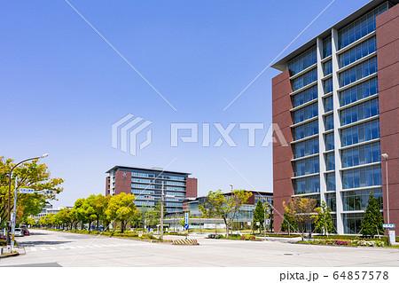 名古屋市北区都市風景 名城公園南交差点 愛知学院大学名城公園キャンパス 64857578
