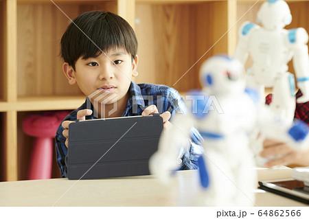 プログラミング ロボット 子供 64862566