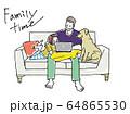 家族団らん 64865530