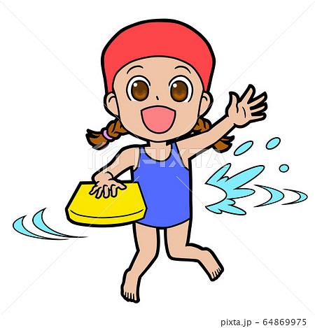 水泳女子 64869975