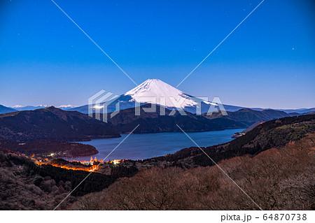 《神奈川県》富士山・箱根大観山からの眺め 64870738