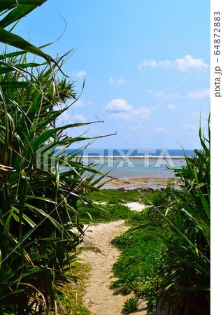 久高島 海岸の道 64872883