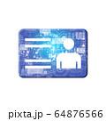 青 アイコンシリーズ 64876566