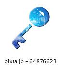 青 アイコンシリーズ 64876623