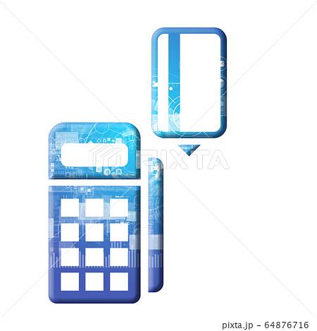 青 アイコンシリーズ 64876716