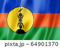 FLNKS Kanak ethnic flag, New Caledonia 64901370