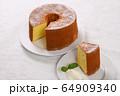 ふんわりシフォンケーキ 64909340