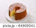 ふんわりシフォンケーキ 64909341