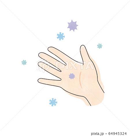 ウィルスと右手 64945324
