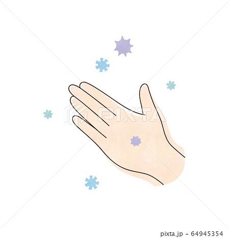 ウィルスと左手 64945354