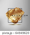 Template for the invitation. 64949620