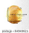 Template for the invitation. 64949621