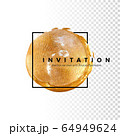 Template for the invitation. 64949624