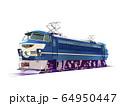 乗り物 電気機関車 EF66 64950447