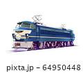 乗り物 電気機関車 EF66 64950448