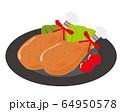 鶏肉 チキン もも肉 ローストチキン  64950578