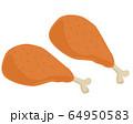 鶏肉 チキン もも肉 ローストチキン  64950583