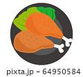 鶏肉 チキン もも肉 ローストチキン  64950584