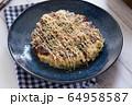 お好み焼き 食事 64958587