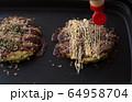お好み焼き 食事 64958704