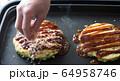 お好み焼き 食事 64958746