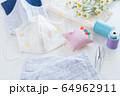 手芸 手作り布マスク 64962911