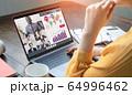 ビデオ会議 オンラインセミナー 64996462